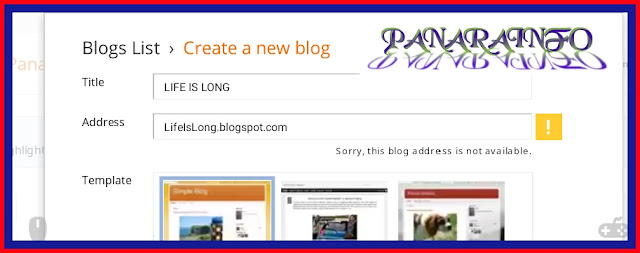 Create a websites/blog Mobile