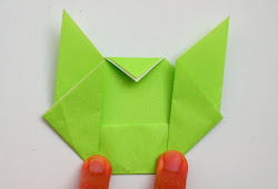 Pokemon Pikachu. Easy Origami Tutorial | PapercraftSquare.com | 170x250