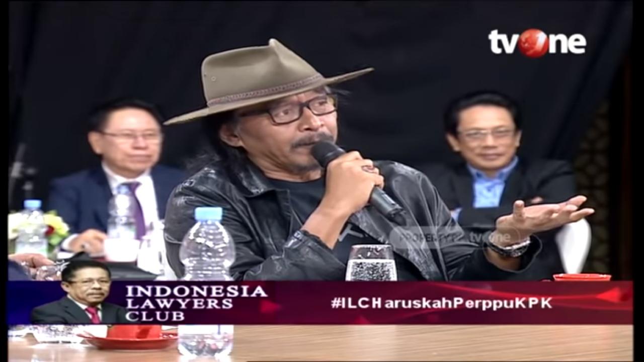 Emosional, Sudjiwo Tedjo Ungkap Dalang Perpecahan di Indonesia