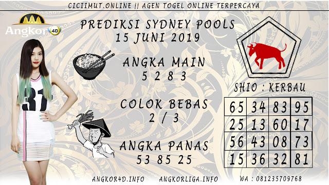 PREDIKSI SYDNEY POOLS 15 JUNI 2019