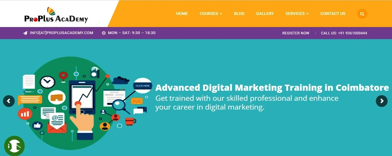 proplus digital marketing training institute