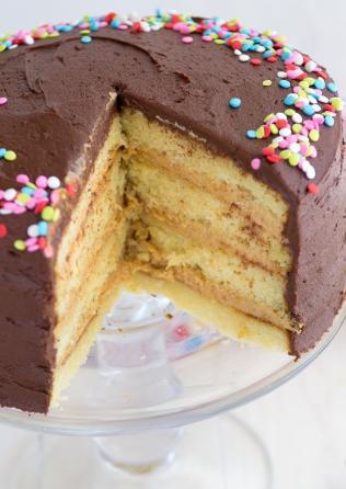 Vanilla Peanut Butter Cake