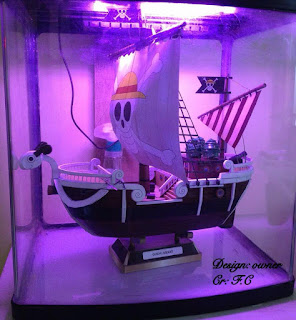 contoh papercraft model perahu