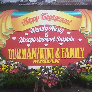 Bunga Papan Pernikahan Di Surabaya