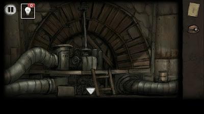 заходим в помещение где находятся трубы в игре выход из заброшенной шахты