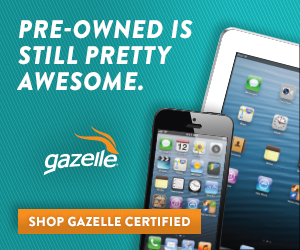 Enter to Win a Gazelle Certified pre-owned iPhone or iPad!