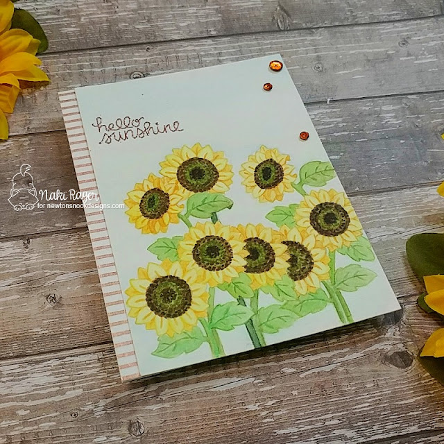 Newtron's Nook Designs Sunflower Days Set - Naki Rager
