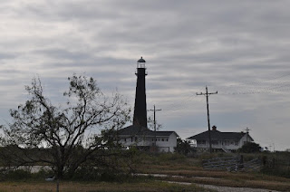 land side view of Bolivar light