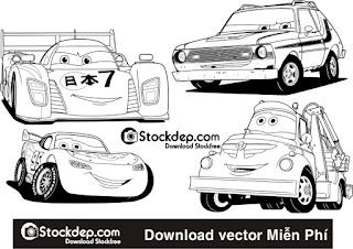 Download Vector ô tô file corelDRAW