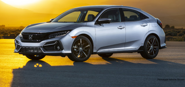Essai de la Honda Civic 2021