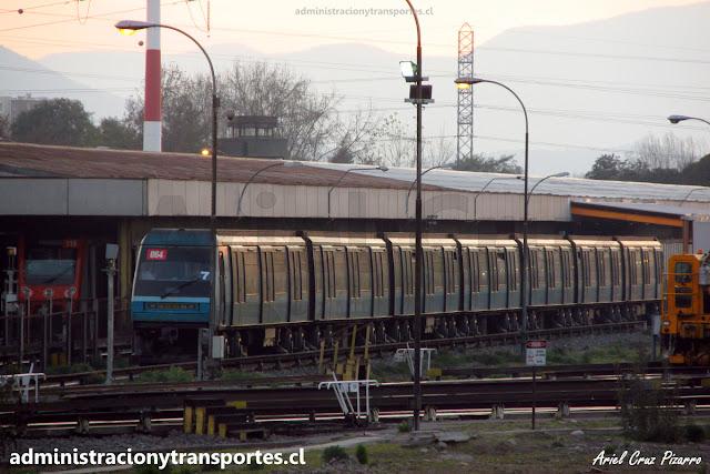 Tren Alstom NS93 2064 en Talleres Neptuno