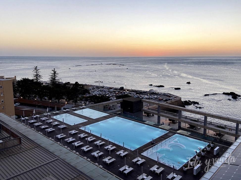 Parador de Cádiz piscinas