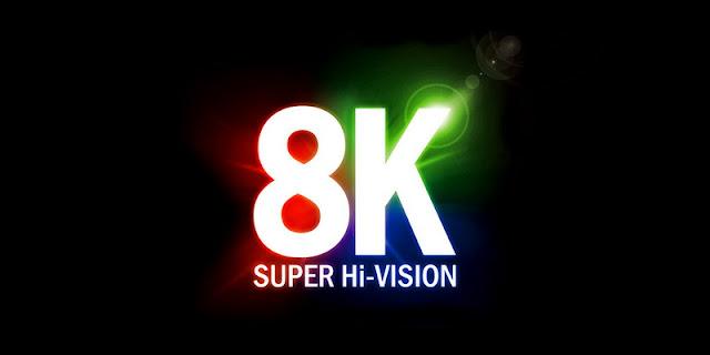 TV 8K siêu mỏng của NHK Nhật Bản, 130 inch và mỏng 1mm
