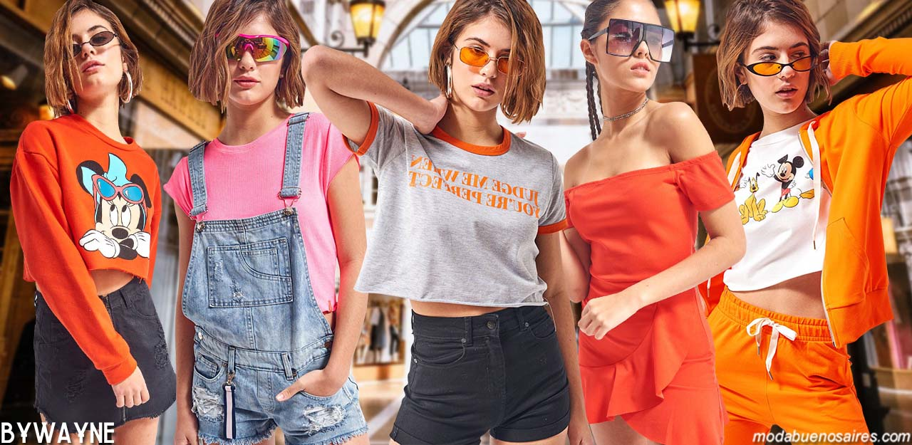 Moda juvenil primavera verano 2020. │ Moda 2020 juvenil.
