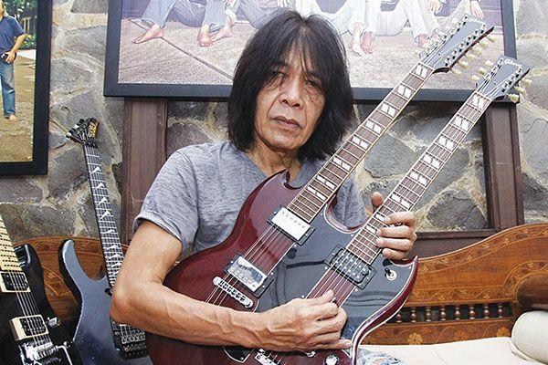 Gitaris Indonesia, gitaris hebat, gitaris terbaik, gitaris, Ian Antono