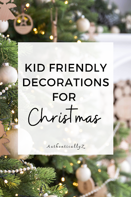 kid friendly christmas decor