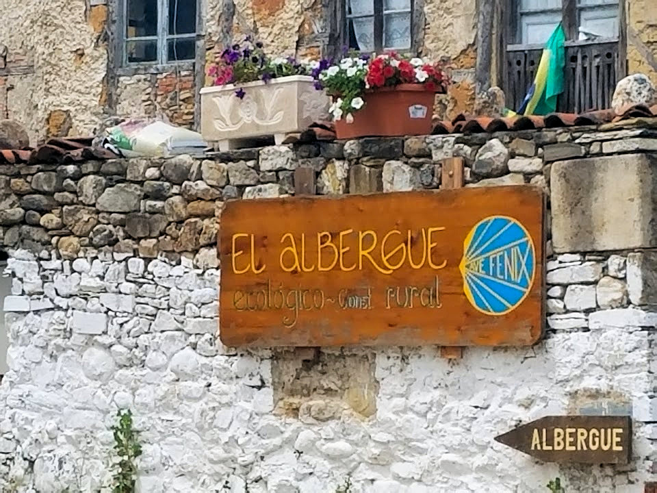Pilgrims must present their credential aka Pilgrim's Passport to gain access to community-sponsored albergues (hostels) or to dine from a pilgrim's menu at a local cafe. Photo: © Lisa Foradori.