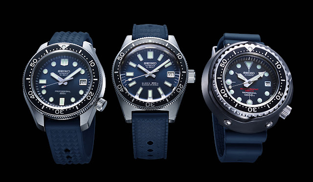 Seiko Prospex Diver's Watch 55th Anniversary Limited Editions
