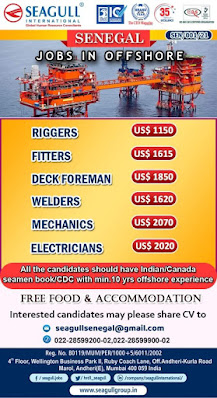Senegal Jobs in Offshore West Africa