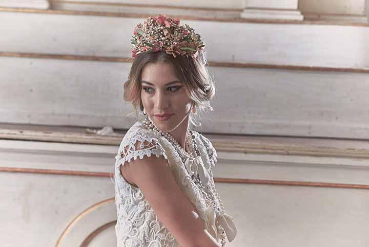 peinados de novia con torzadas 2020