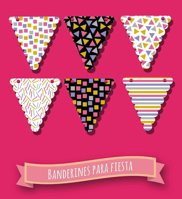 Banderines de Fiesta.