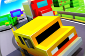 Blocky Highway: Traffic Racing APK v1.2.1 for Android Original Version Terbaru 2018