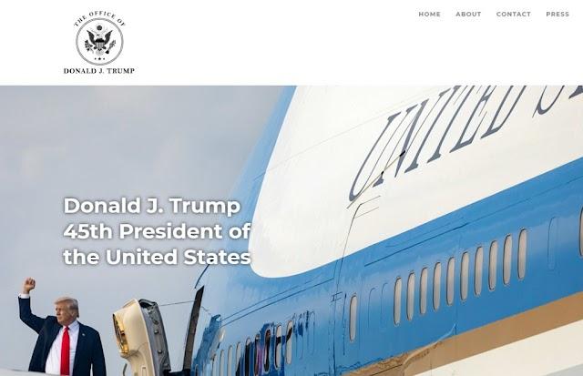 Ντόναλντ Τραμπ : Εγκαινιάστηκε ο νέος ιστότοπός του