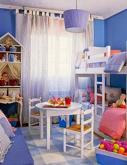 cama camarote para niñas