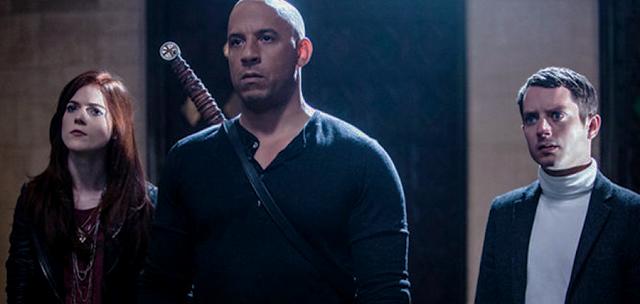 Kauder (Vin Diesel) este singurul vânător de vrăjitoare din lume.
