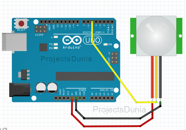 How To Interface Pir Sensor With Arduino