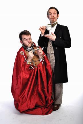 Morgan and West magicians