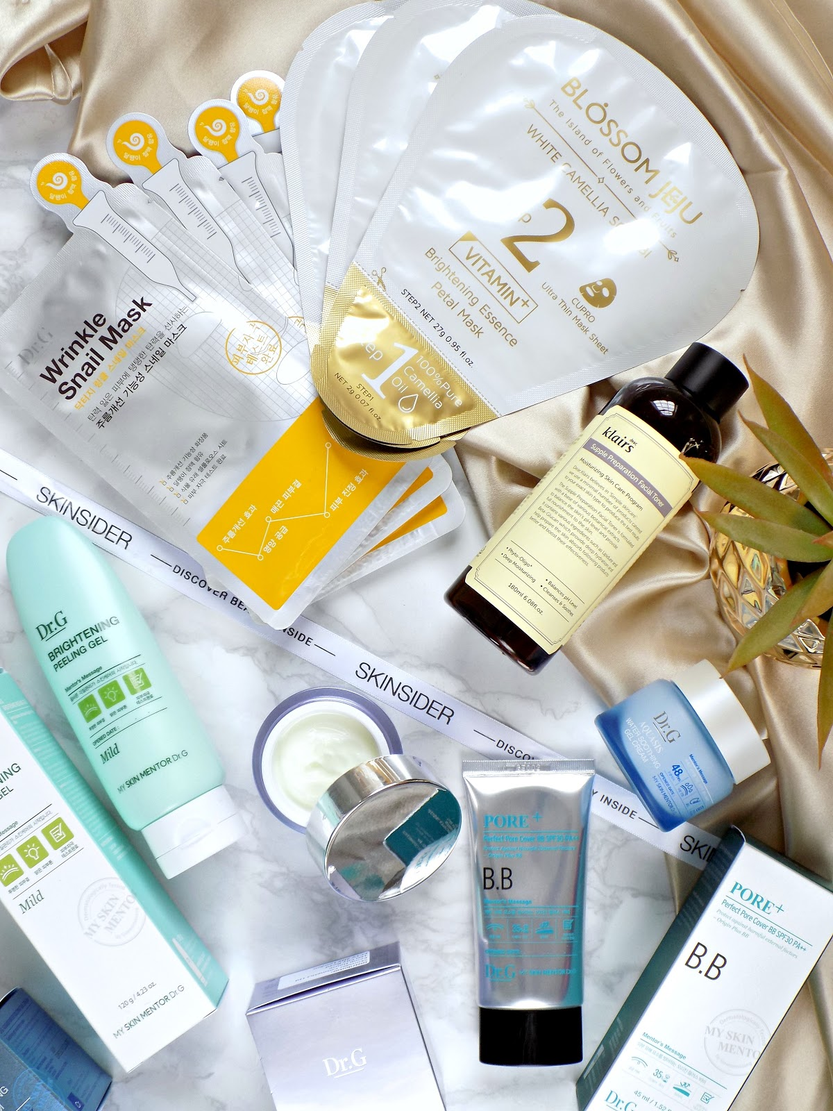 Korean beauty haul from Skinsider UK