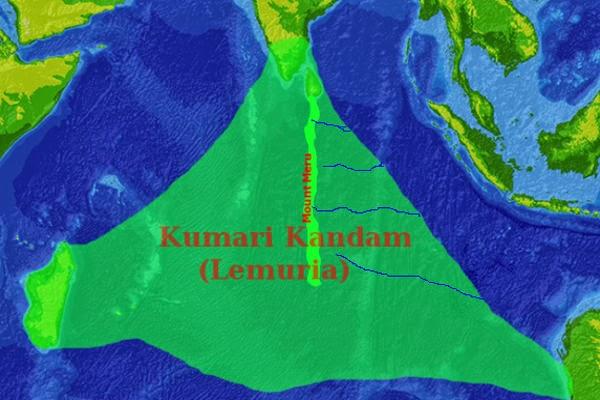 Kumari Kandam, Benua Lemuria