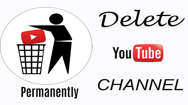 delete youtube channel