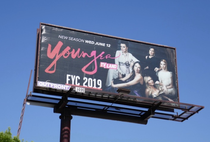 Younger s6 Emmy 2019 FYC billboard