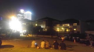 WismaQQ.Com |  Mahasiswa Demo Didepan Rumah SBY Di Mega Kuningan