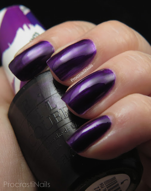 Swatch of OPI Purple Perspective from the 2015 Color Paints Collection