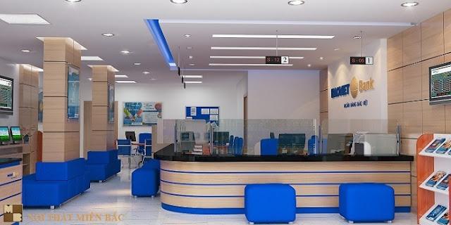Tư vấn thiết kế phòng giao dịch ngân hàng đẳng cấp - H1