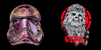 Star Wars: The Last Jedi Australian Artist Edition T-Shirt Collection by RadioVelvet