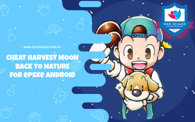 Cheat Harvest Moon Back to Nature for ePSXe Android