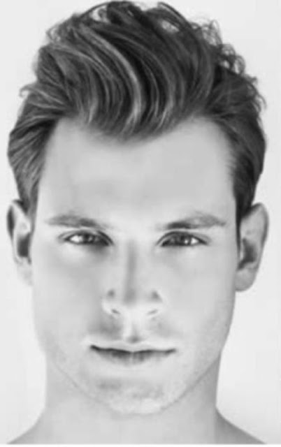 mens haircuts for oblong faces  Good for School Activity