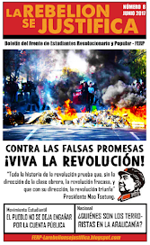 La Rebelión se Justifica N°8, Junio 2017