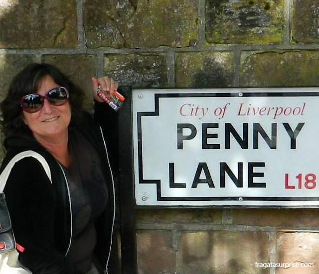 Viajar sozinha para Liverpool, Inglaterra
