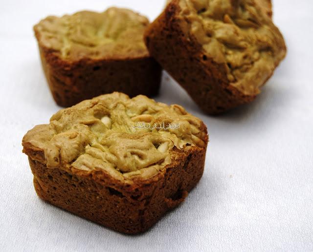 Brownies Caseros con Té Matcha