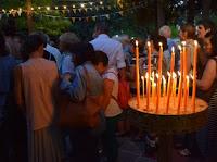 Κοζάνη: Πλήθος πιστών την παραμονή του Δεκαπενταύγουστου στο ξωκλήσι της Παναγίας