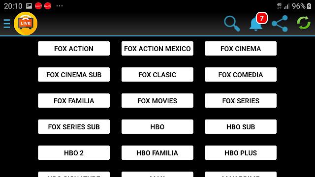 تحميل تطبيق Live Smart Box TV.apk لمشاهدة القنوات الاجنبية بسيرفرات متعددة