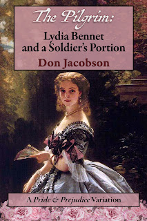Book cover: The Pilgrim: Lydia Bennet and a Soldier's Portion by Don Jacobson