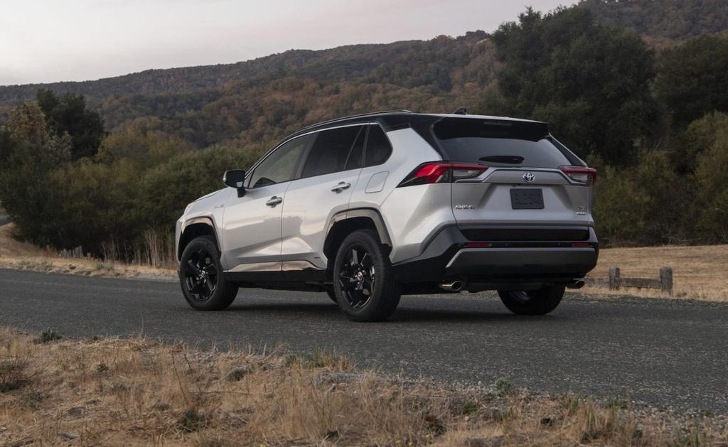 Đánh giá Toyota RAV4 Hybrid 2020 – xe gia đình, tiết kiệm nhiên liệu