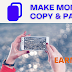 How to make money online by copying and pasting images at home in my free time