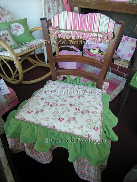Tendenzialmente country: cuscini country per sedia